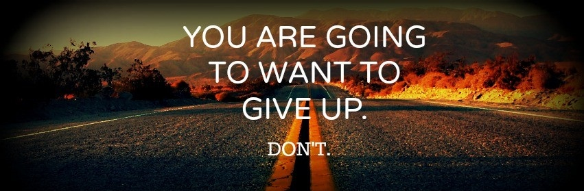 Up Facebook Timeline Cover wallpaperDont Give Up World Dont Give Up 851x279