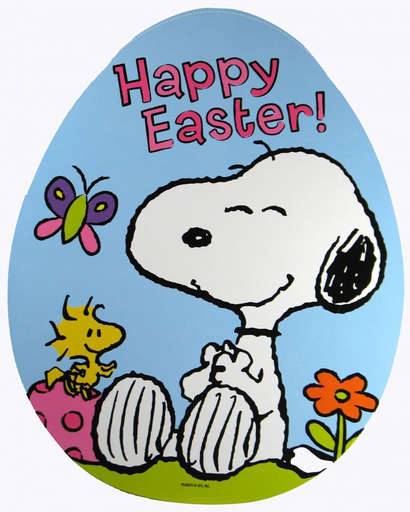 easter images of Snoopy Snoopy Easter Egg Wall Decor   REDUCED 800x998