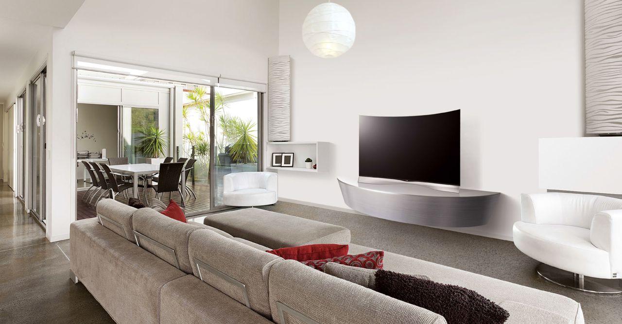 Tv In Muur : Lg wallpaper tv price wallpapersafari
