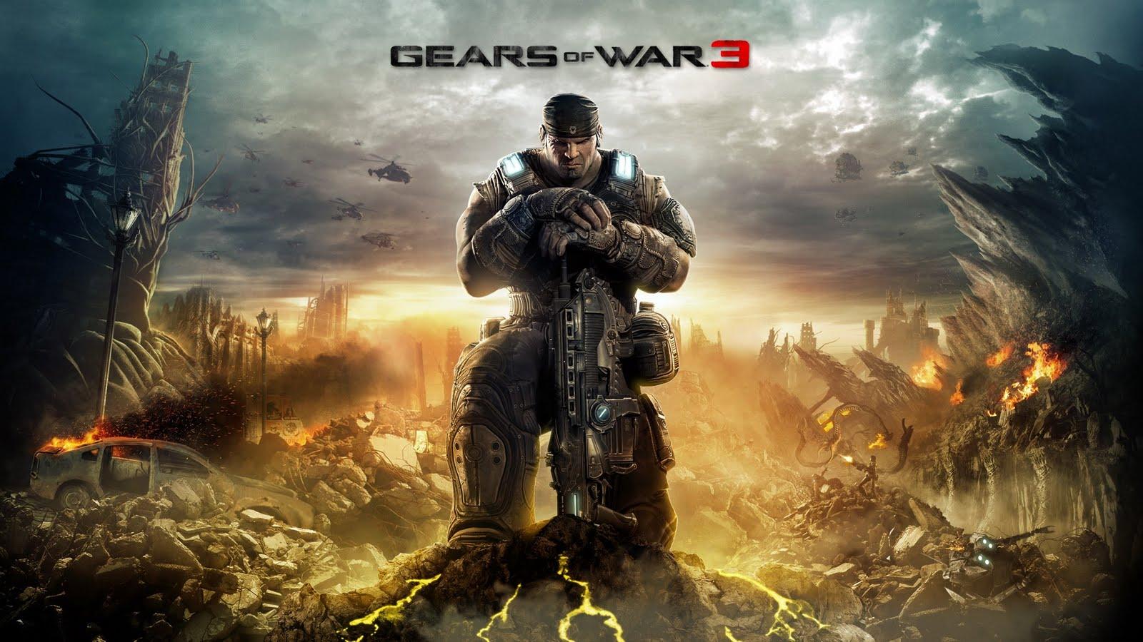Wallpapers de Gears of war 3 HD DragonXoft 1600x900