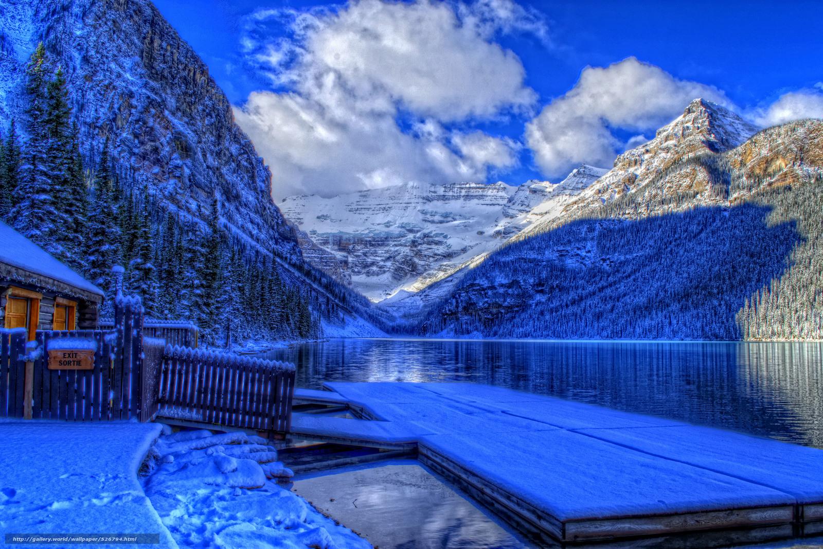 Download wallpaper lake louise banff national park alberta canada 1600x1067