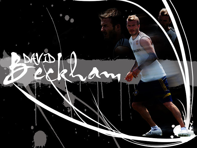 David Beckham LA Galaxy 2012 Manchester United Wallpaper For Iphone 640x480