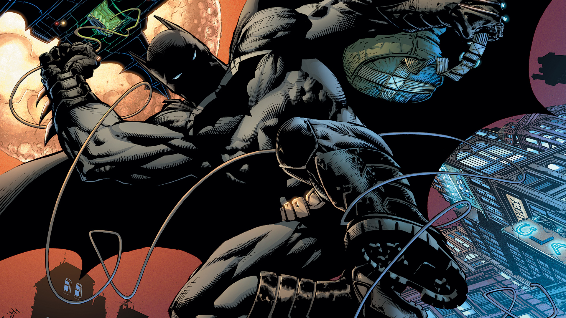 1920x1080px Batman Jim Lee Wallpaper 1920x1080