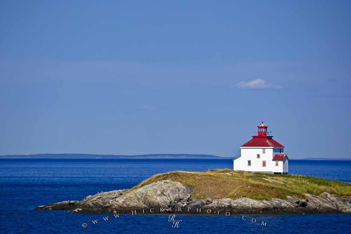wallpaper background Queensport Lighthouse Chedabucto Bay Nova Scotia 1440x960