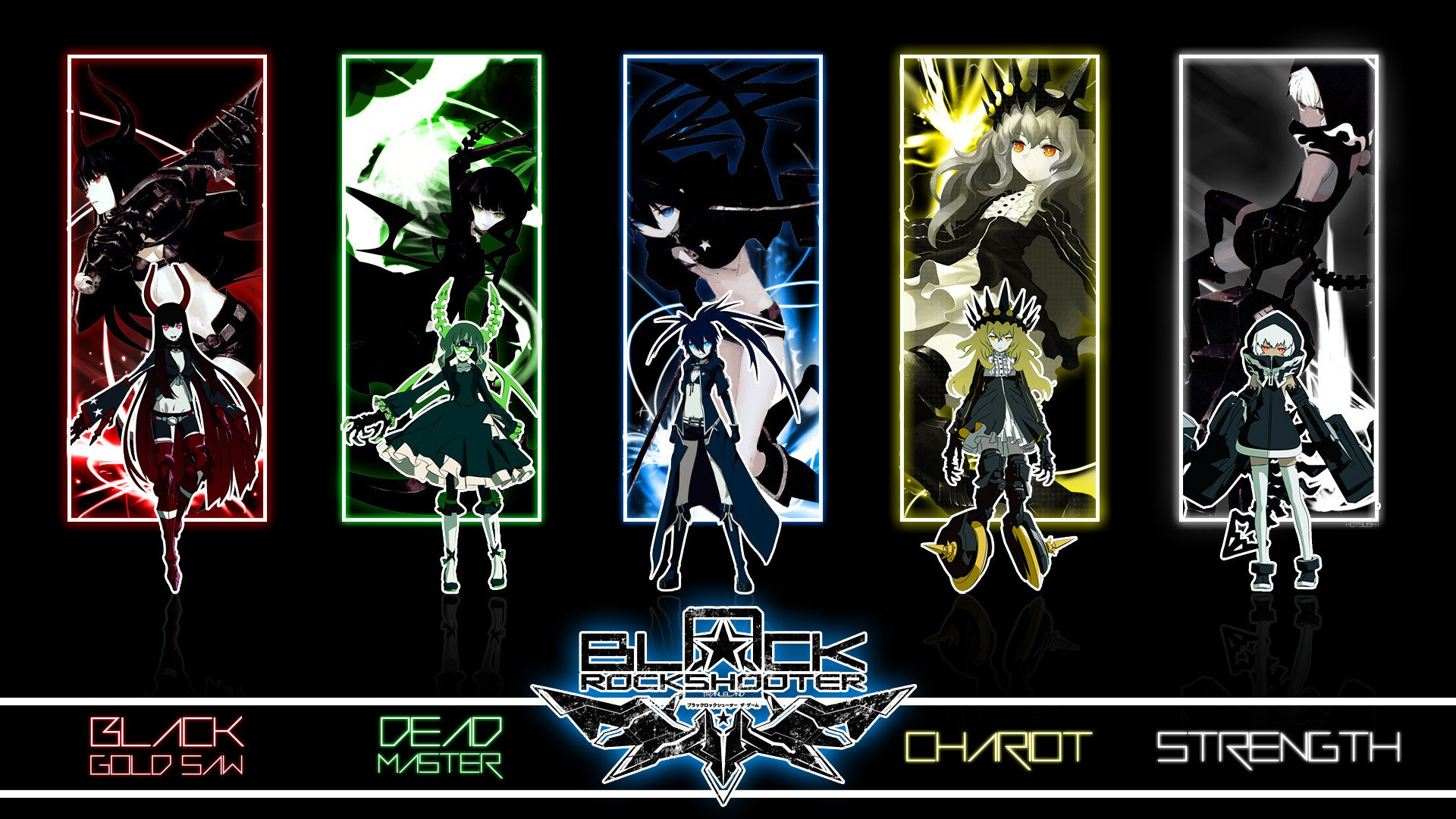 71 Strength Black Rock Shooter HD Wallpapers Background Images 1920x1080