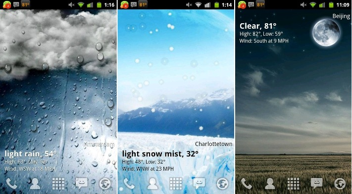 animated weather wallpaper for android wallpapersafari