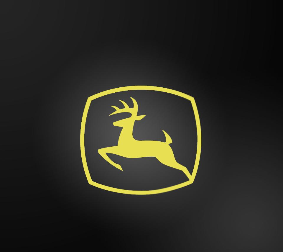 John Deere Logo Wallpaper Cuadros 960x854