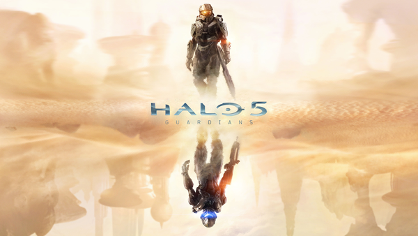 Halo 5 Guardians   Wallpaper Master Chief on Top by halo4guest on 600x338