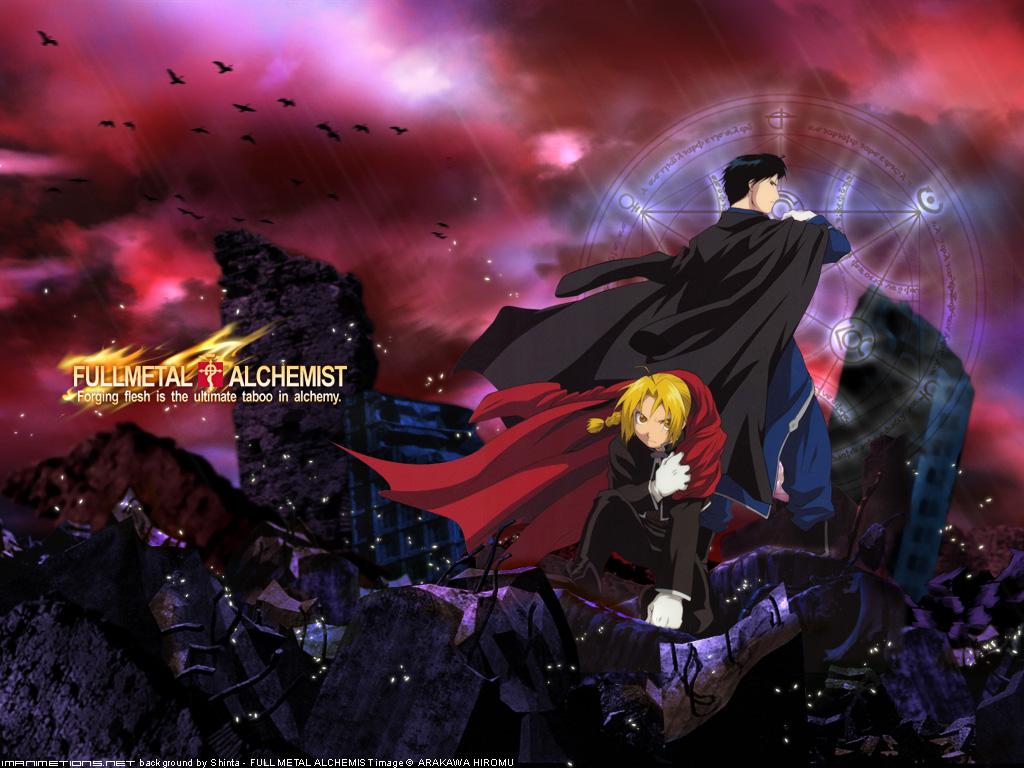 Free Download Manga And Anime Wallpapers Fullmetal Alchemist Hd