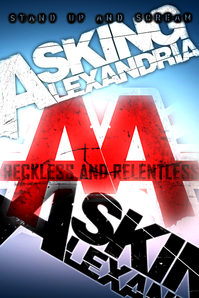 asking alexandria wallpaper hd by keance on deviantart 640x960