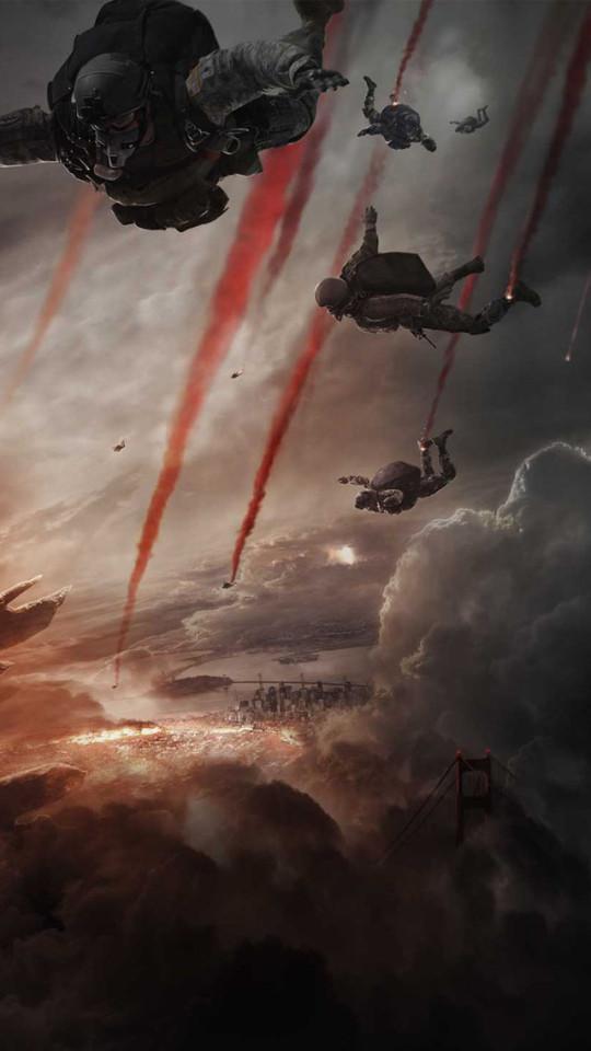 Godzilla 2014 Movie Wallpaper   iPhone Wallpapers 540x960