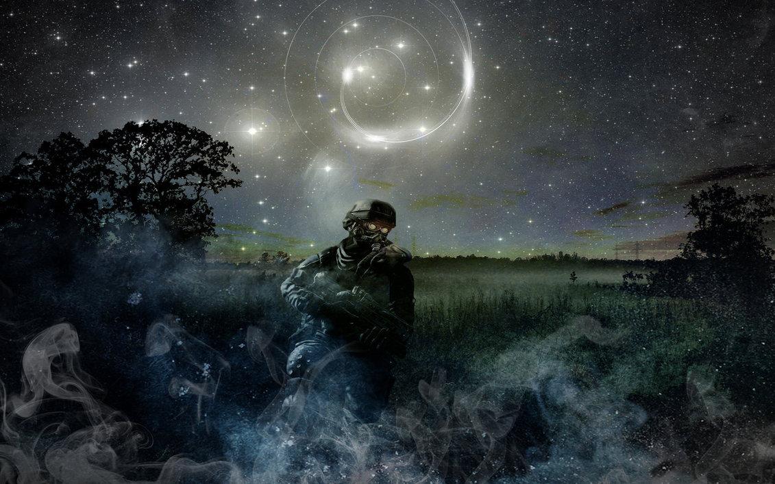 Soldier On Field Wallpaper by LullZer on deviantART 1131x707