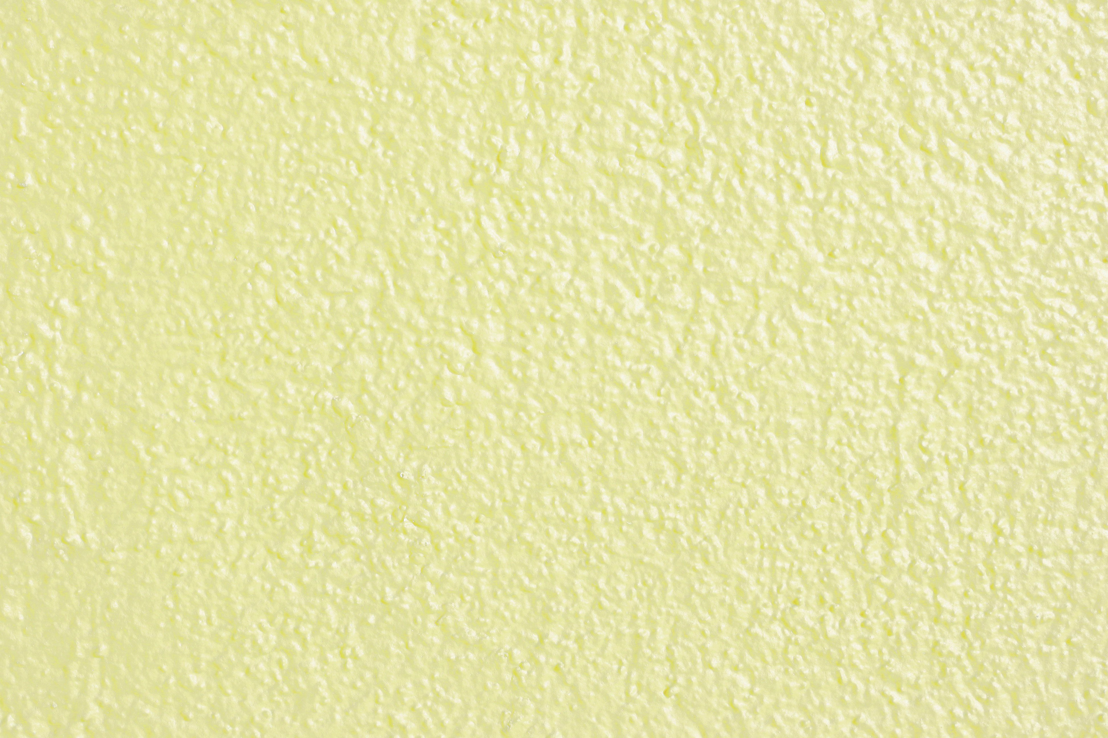 Pale Yellow Painted Wall Texture High Resolution Photo 3888x2592