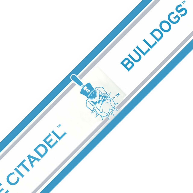 NCAA Citadel Bulldogs College Accent Wallpaper Border Roll 640x640