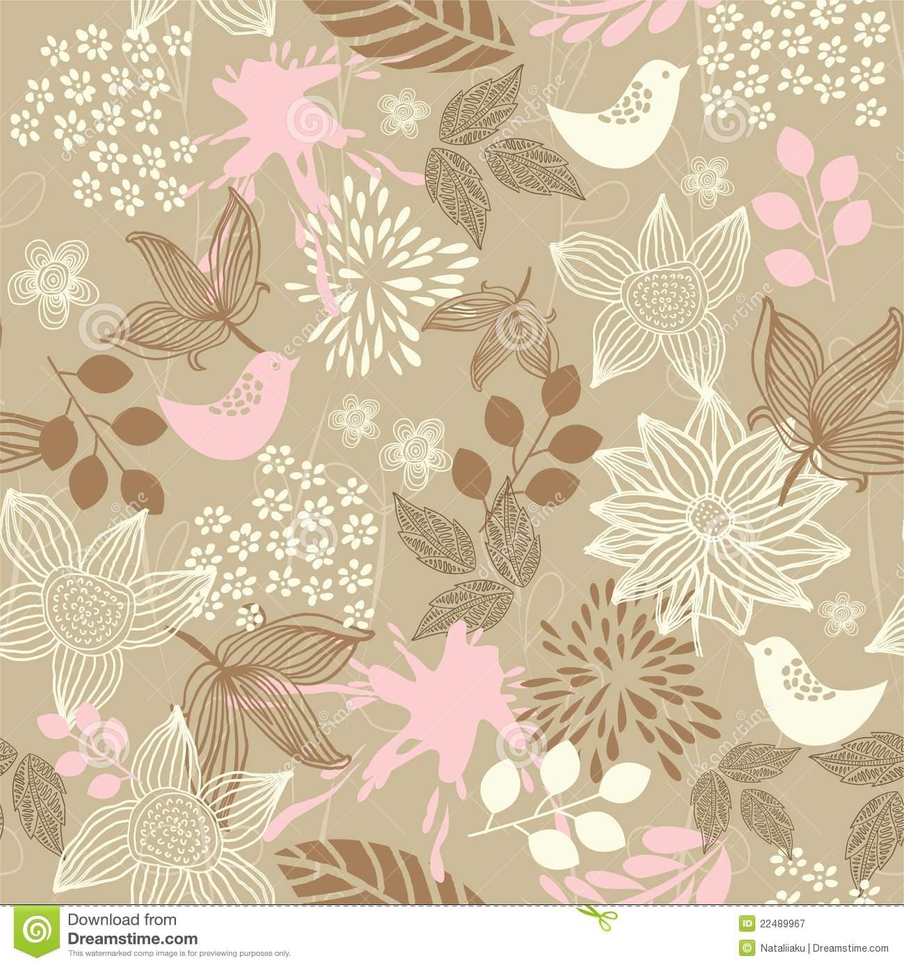 Displaying 14 Images For   Vintage Bird Wallpaper Pattern 1300x1390