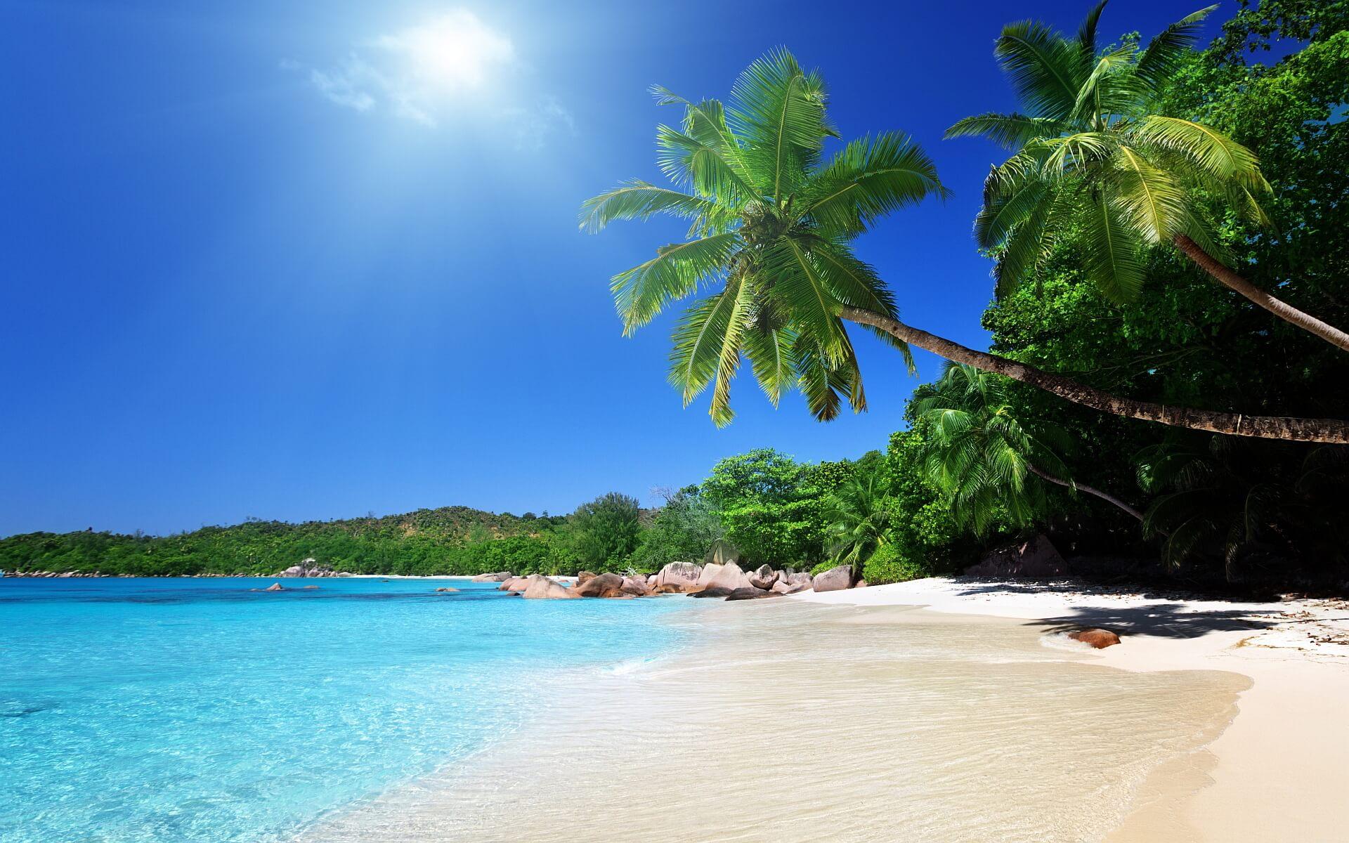 Tropical Beach Scenes Desktop Wallpaper HD4Wallpapernet 1920x1200