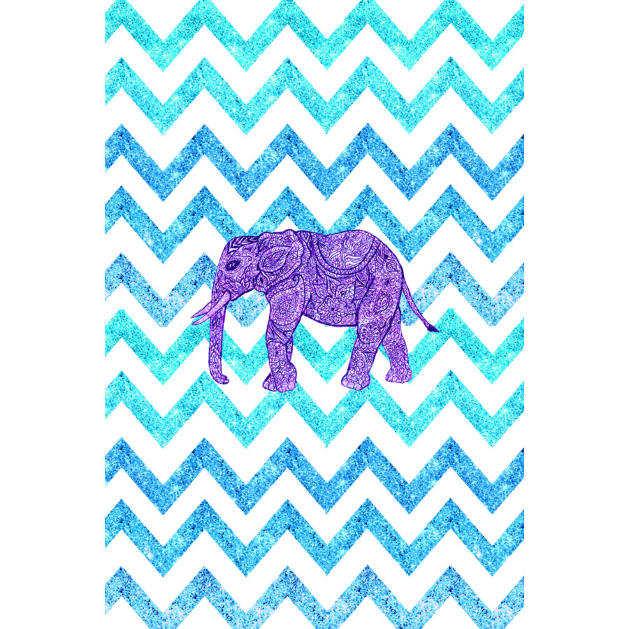 Colorful Iphone Wallpaper Girly: Tribal Elephant Wallpaper
