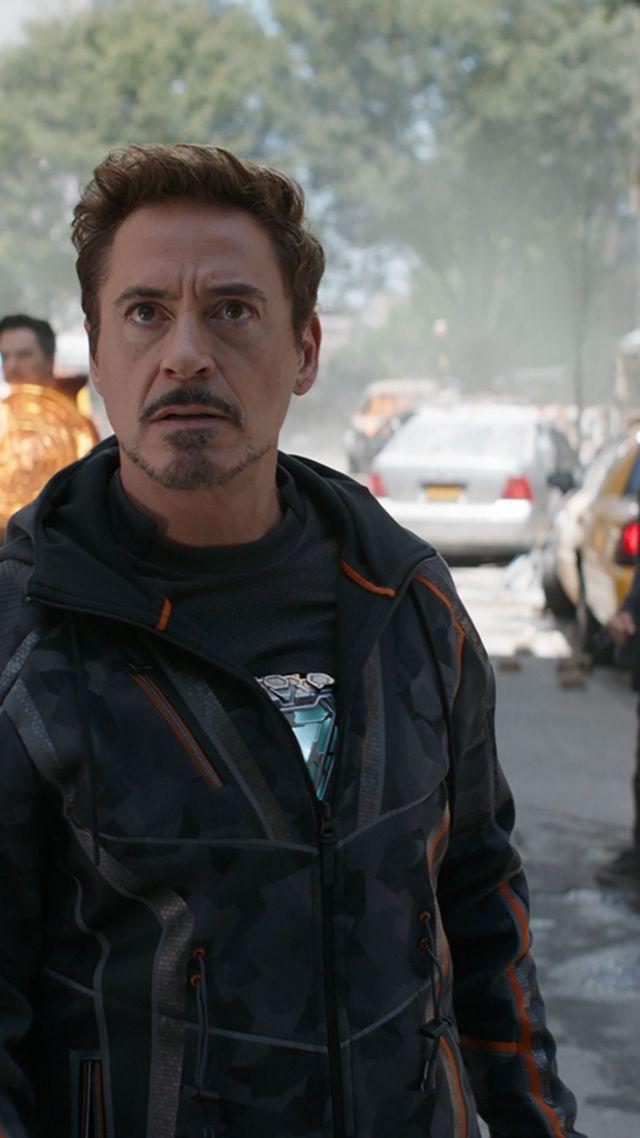 Wallpaper Avengers Infinity War Robert Downey Jr Iron Man 640x1138