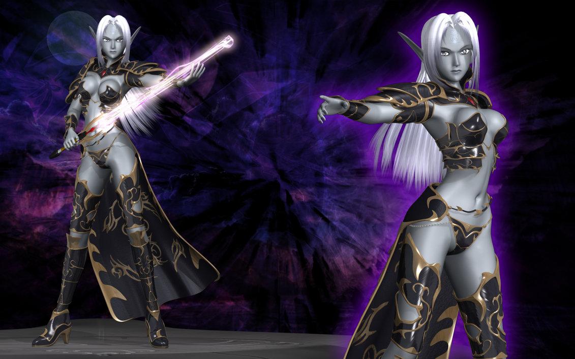Mystial the Dark Elf   Old by Primantis 1131x707