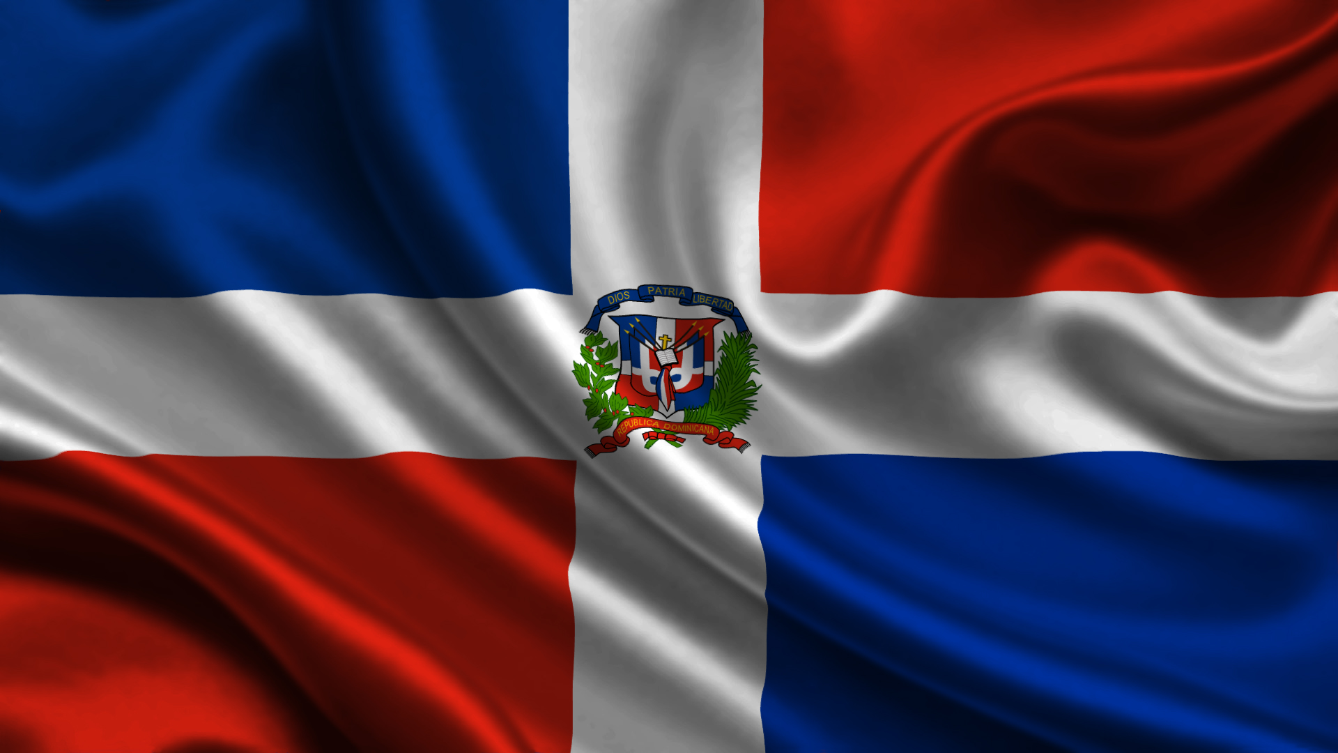 Gallery For Dominican Republic Flag Wallpapers 1920x1080