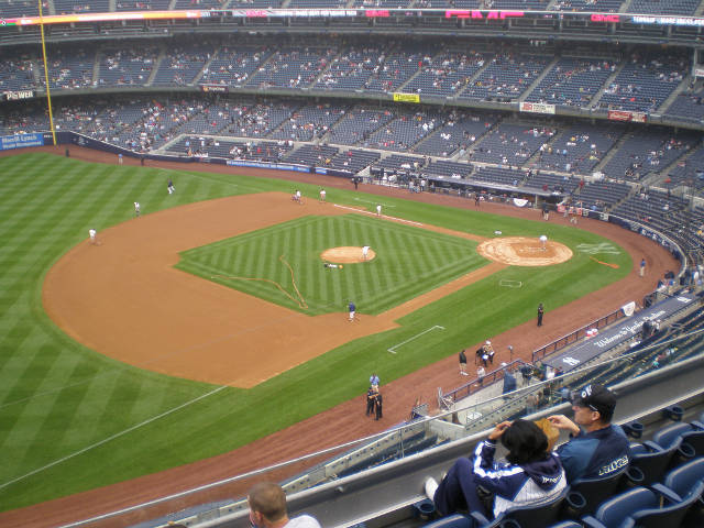 New York Yankees Stadium 640x480