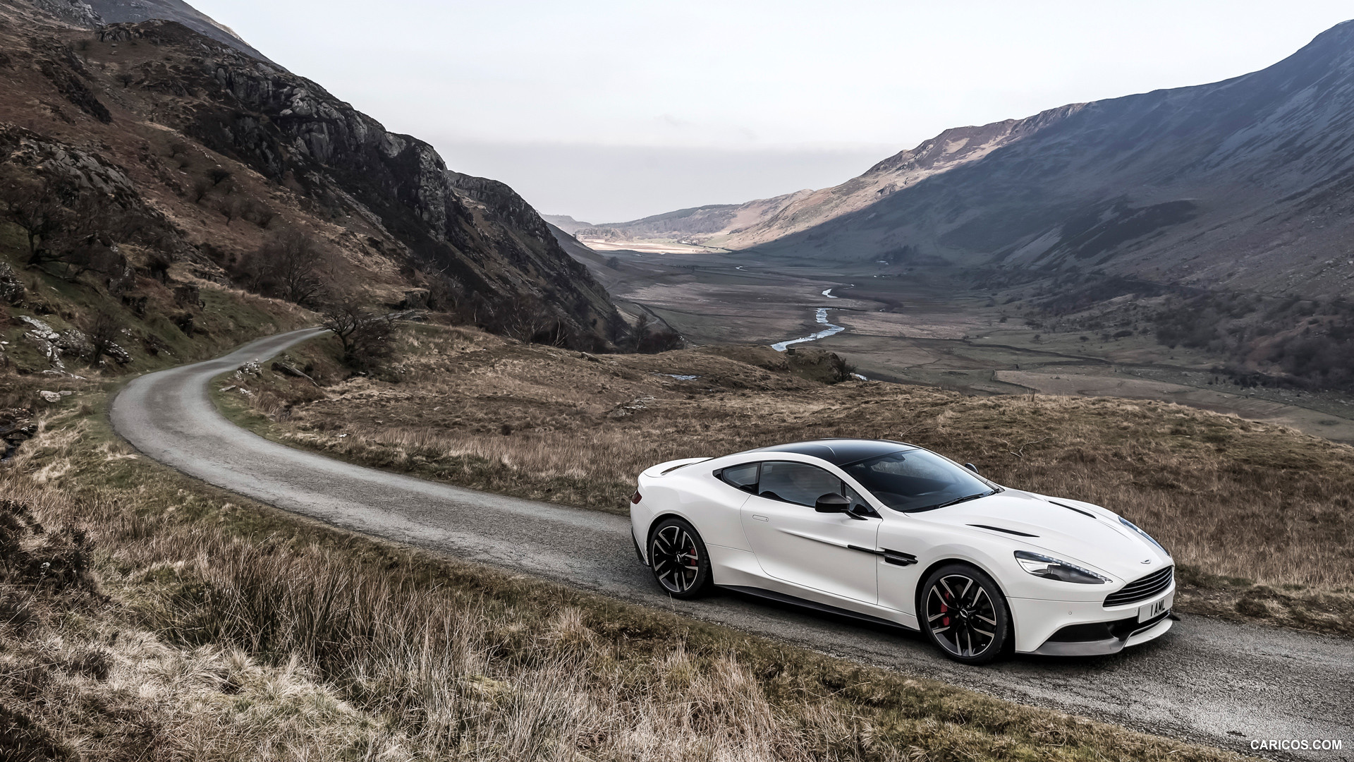 2015 Aston Martin Vanquish Carbon White Edition   Side HD 1920x1080