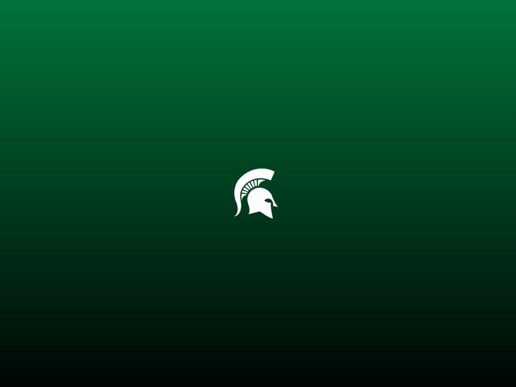 Michigan State Desktop Background 1024x768