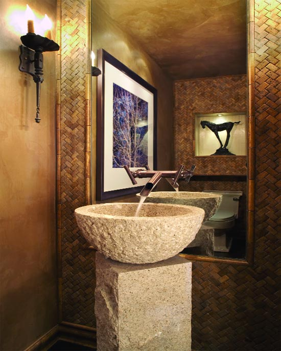 25 Gorgeous Powder Rooms That Can Amaze Anybody   DigsDigs 550x688