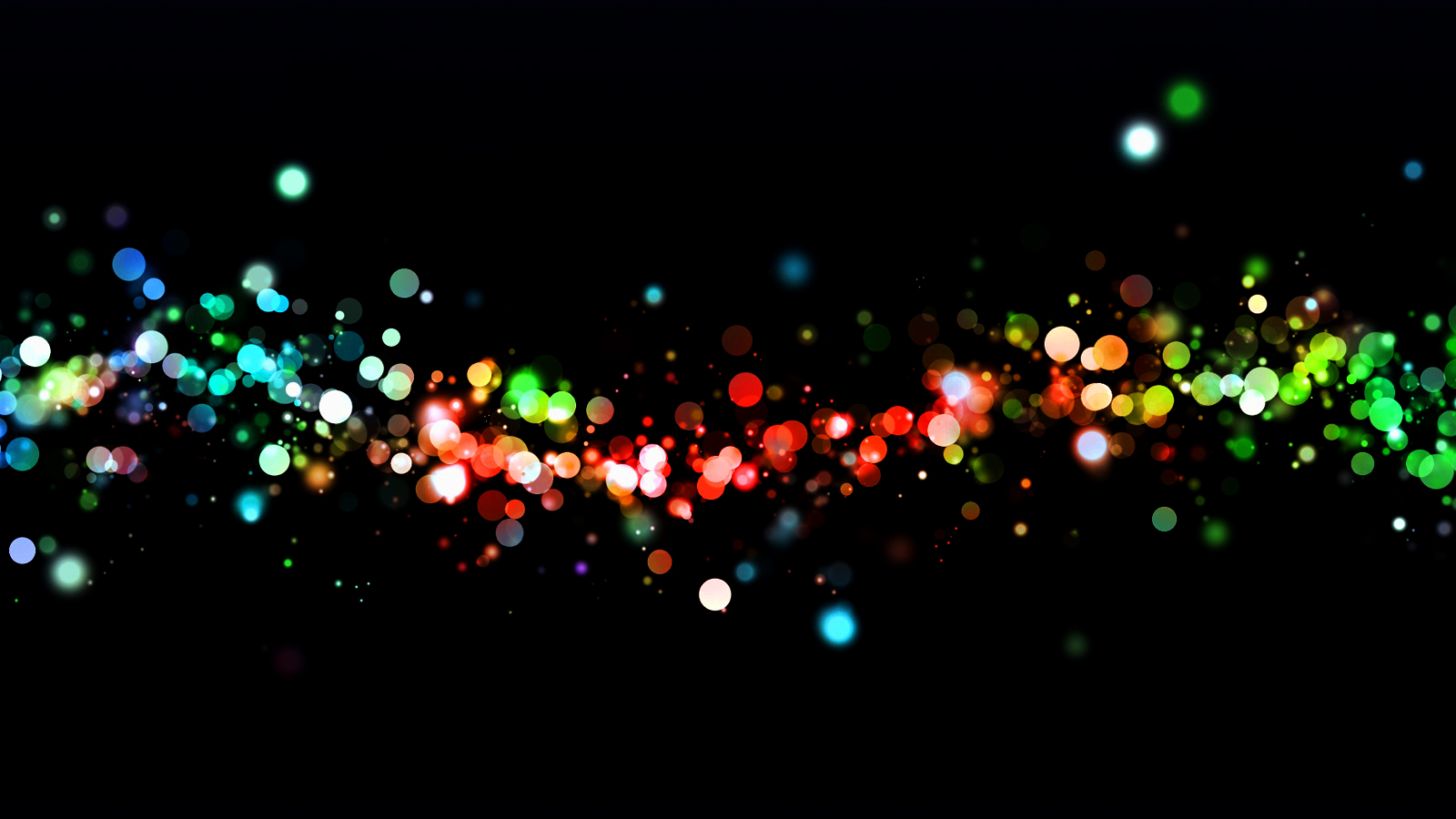 Abstract Light Circles Bokeh HD Wallpapers Download Wallpapers in 1600x900