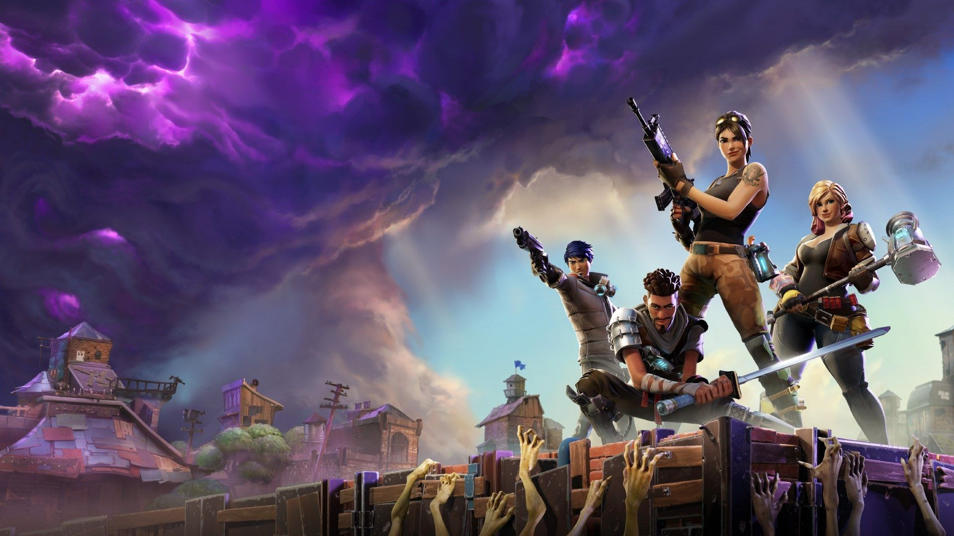 19 Fortnite Desktop Full Screen Wallpapers On Wallpapersafari