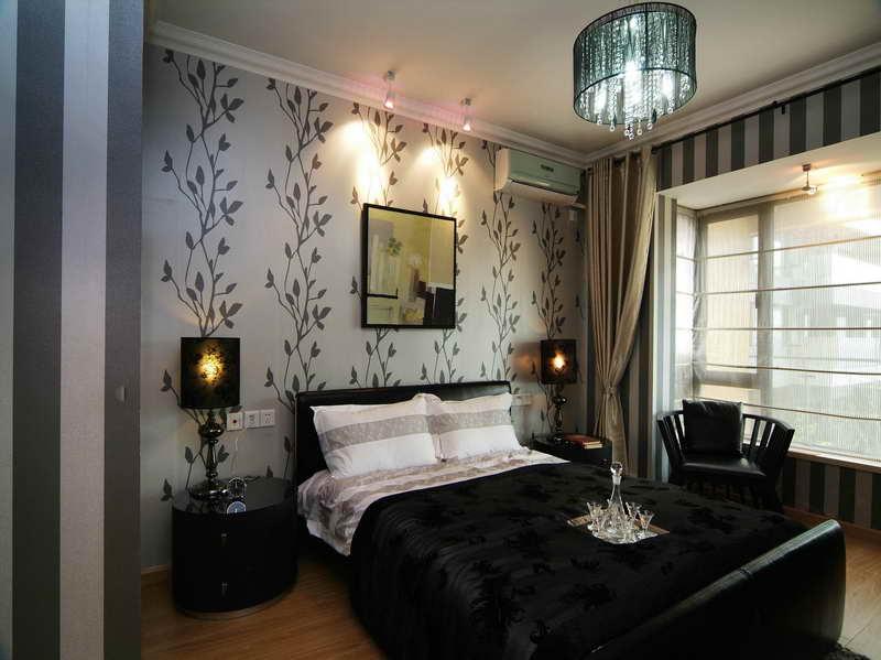 Bold Flower Wallpaper Home Interior Design 800x599