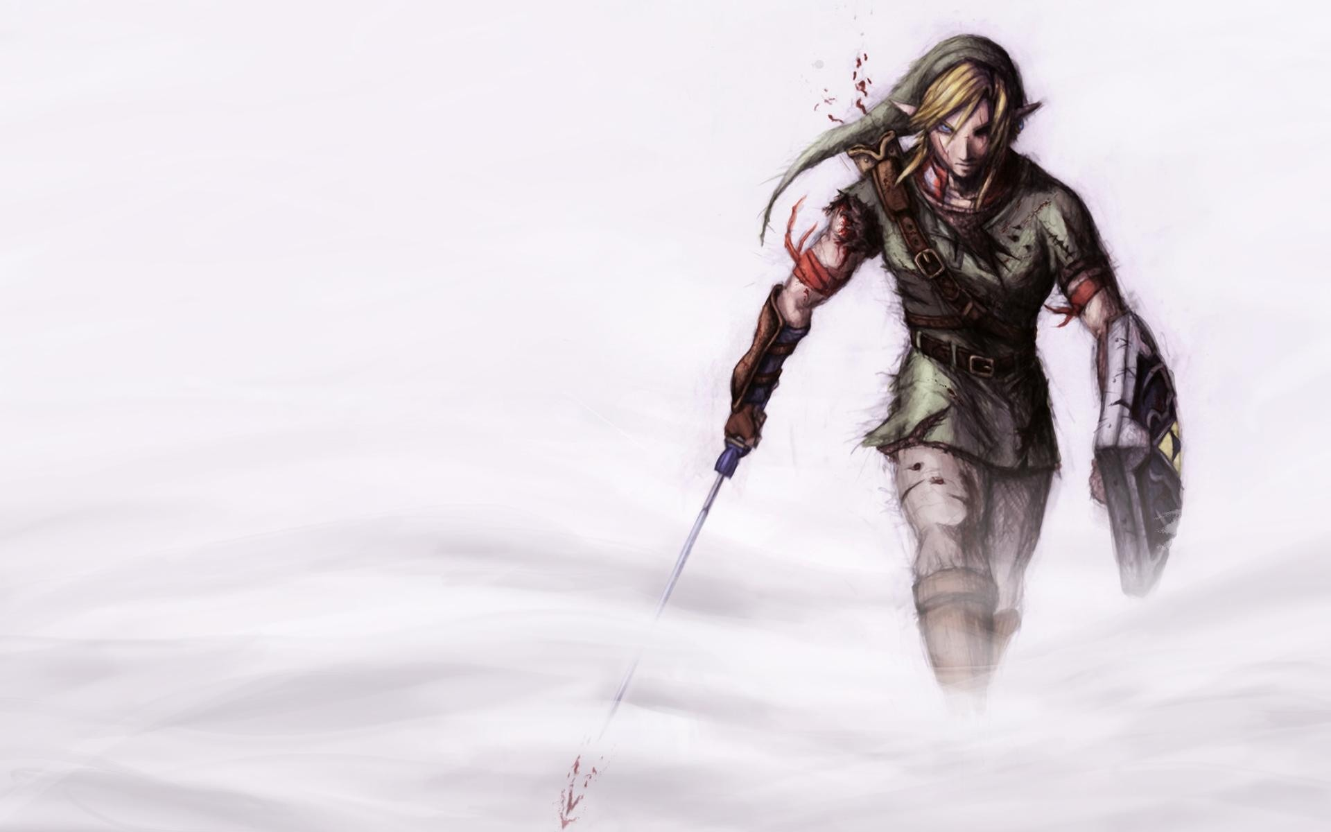 Link from Legend of Zelda desktop wallpaper 1920x1200