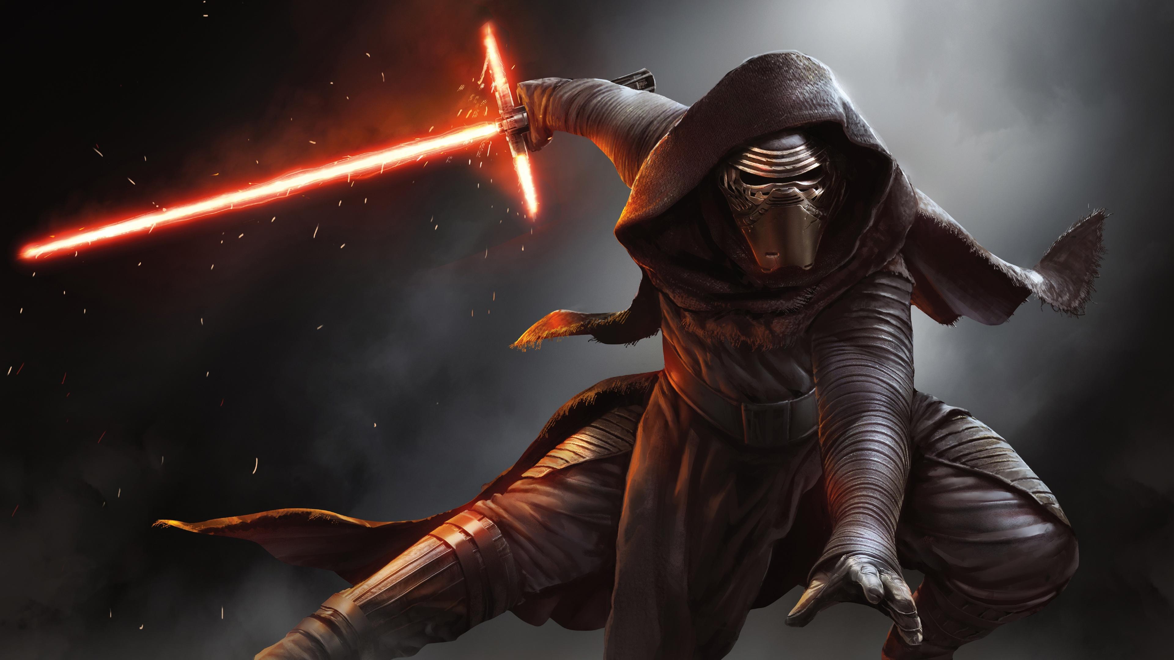 Kylo Ren Star Wars Wallpapers HD Wallpapers 3840x2160