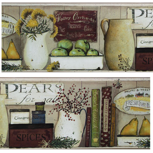 Country Wallpaper and Borders 500x500