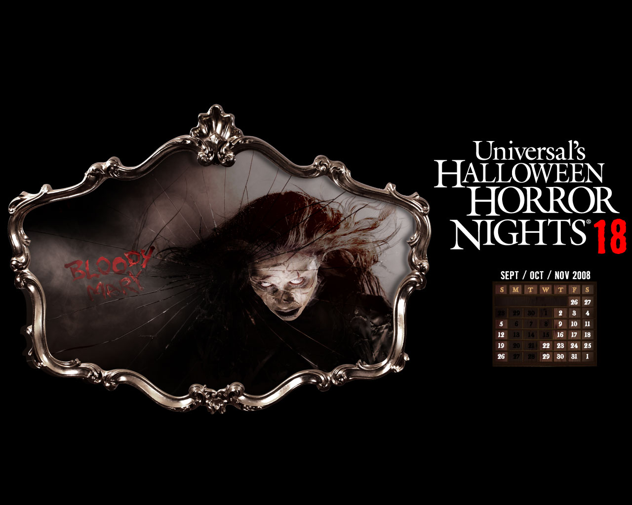 Halloween Horror Nights at Universal Studios Florida 1280x1024