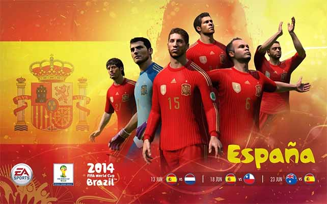 Official EA Sports 2014 FIFA World Cup National Teams Wallpapers 642x401