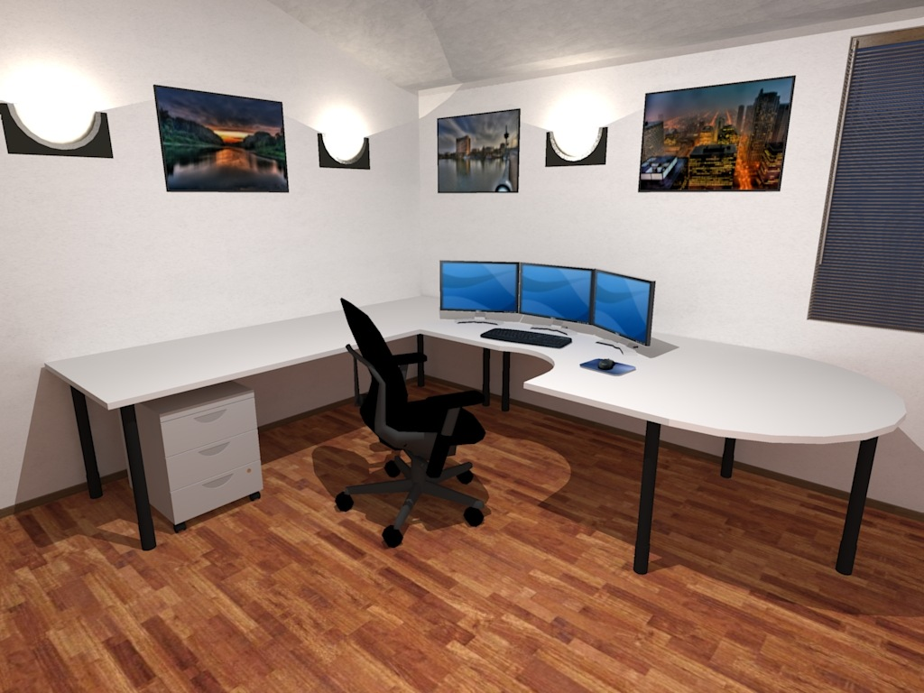 3d office wallpaper wallpapersafari for Office design 3d