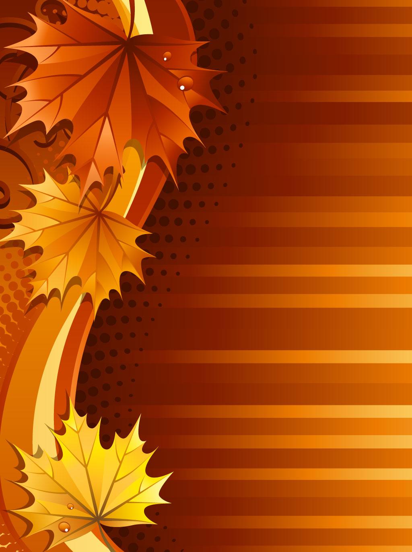 Fall Leaves Background Hd Fall leaves ba 1024x1370