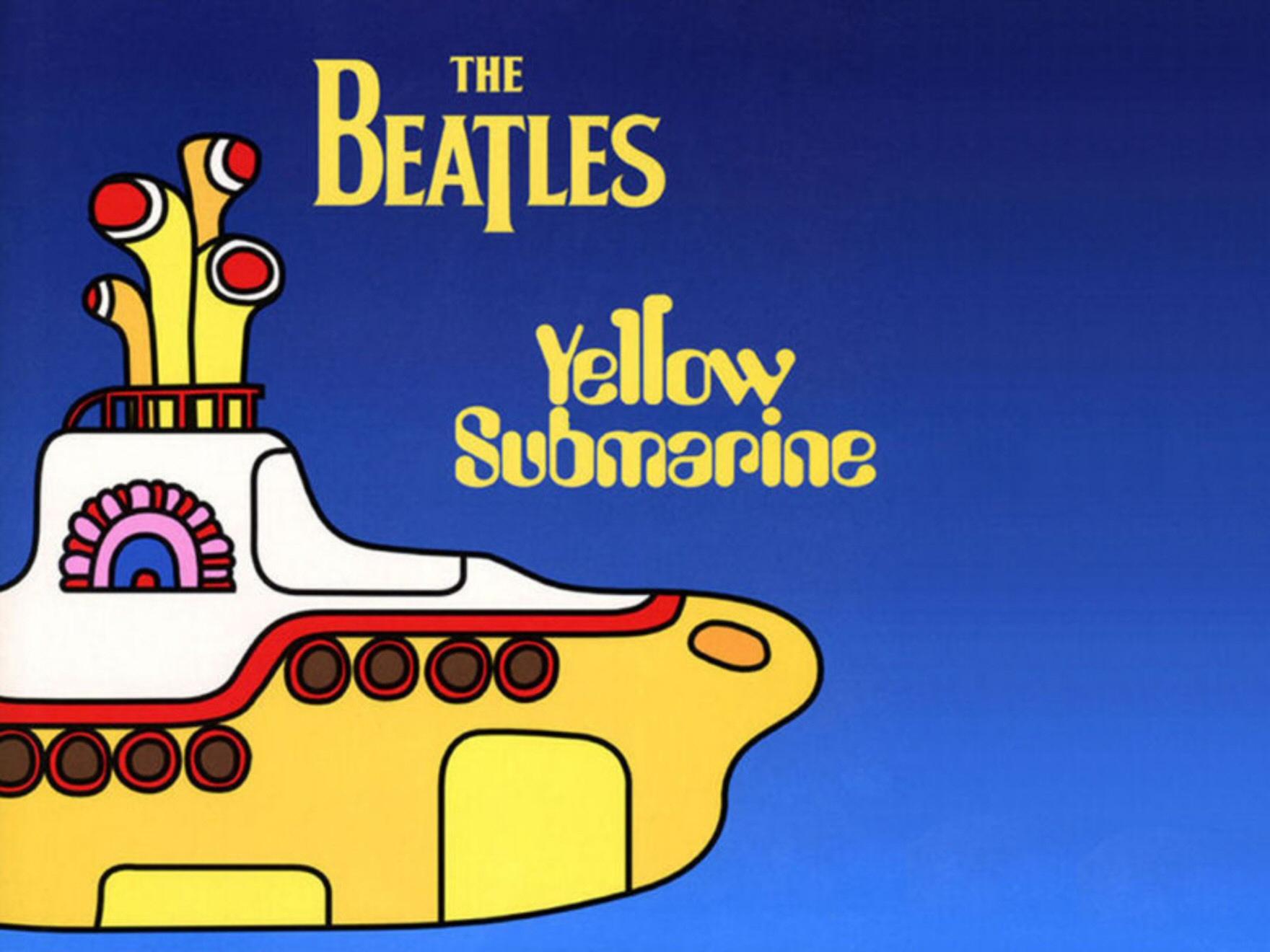 Beatles Yellow Submarine Wallpaper 1760x1320