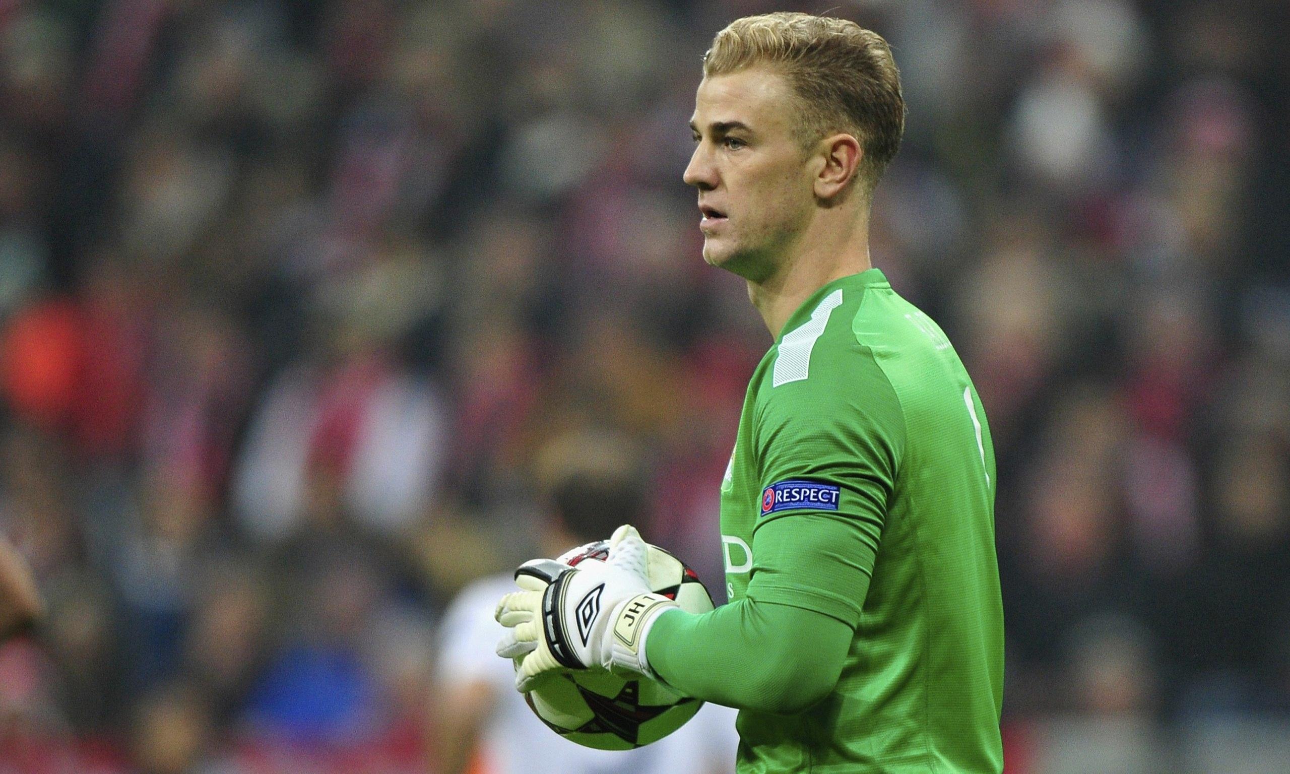 joe hart football player goalkeeper Wallpaper HD Sports 4K 2560x1536