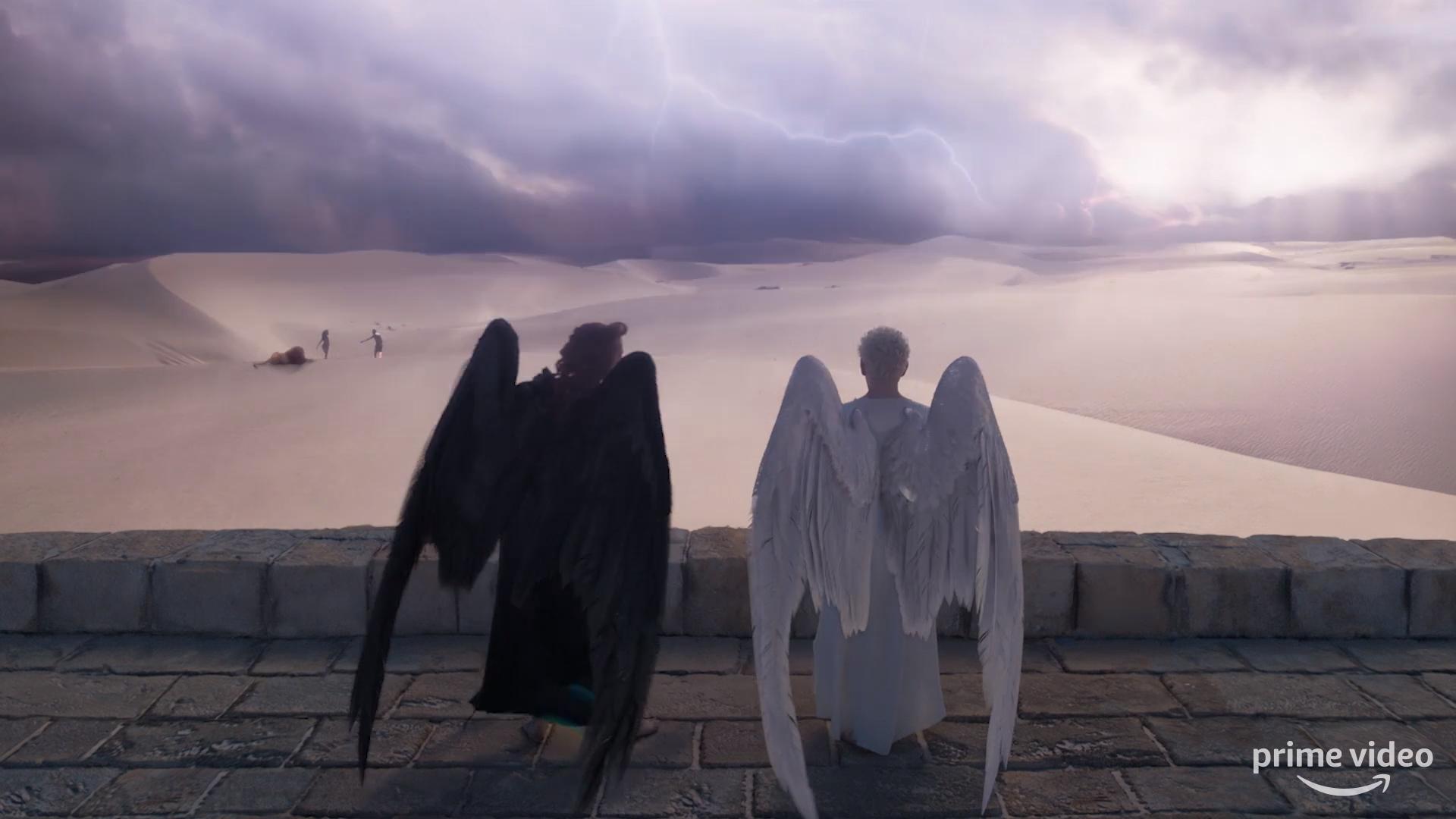 Teaser Trailer from Good Omens 2019 1920x1080