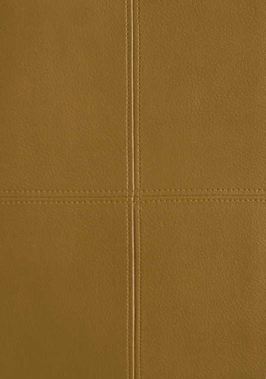 Tuscan Leather Vinyl Wallcovering Light Brown panelled faux leather 534x759
