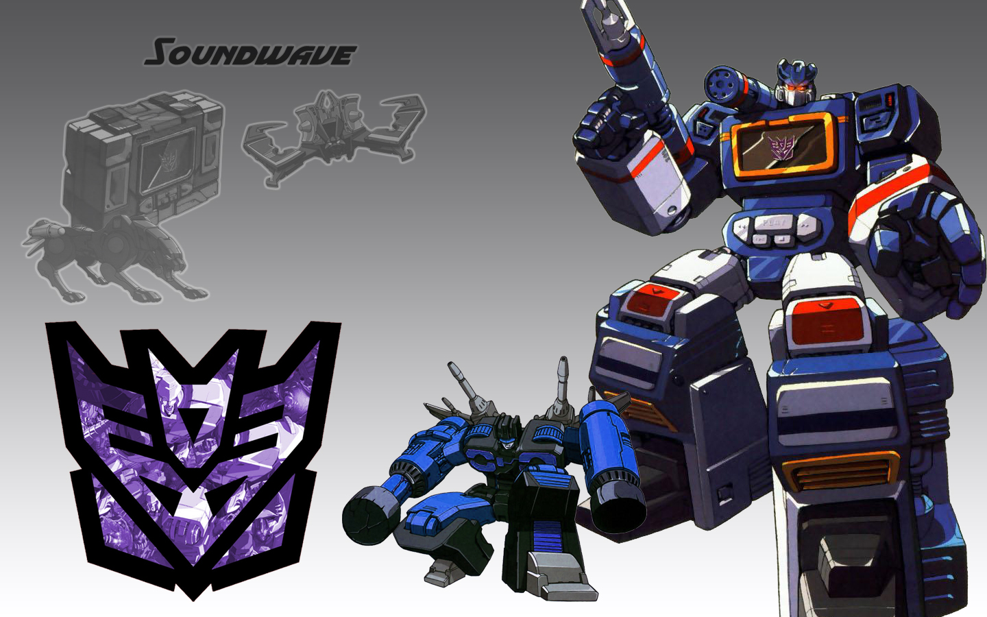 transformers wallpapers soundwave 1440x900