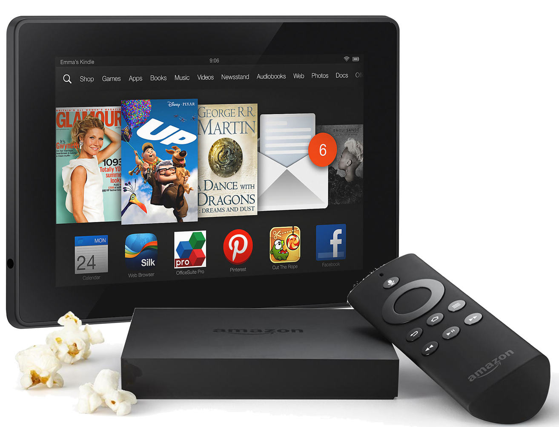 Amazon Fire TV and Kindle Fire HDX 7 16GB Bundle 249 shipped Reg 1313x1002