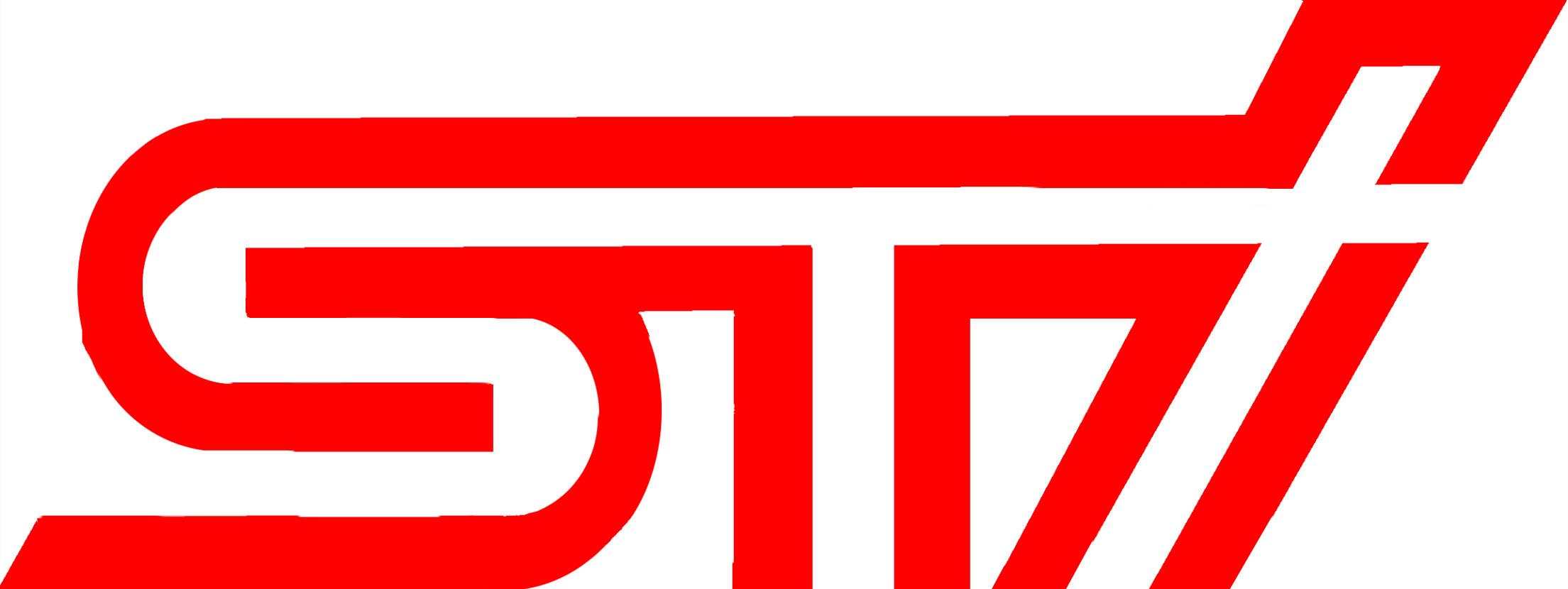 2008 Subaru WRX STi   DIY Intercooler Logo 2209x830