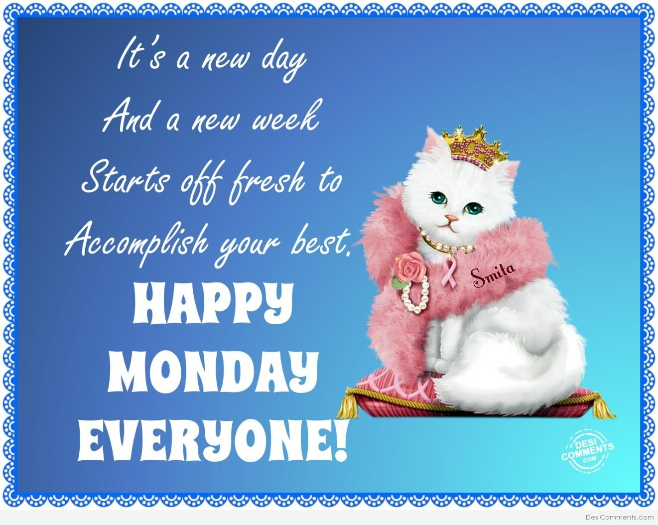 Monday blessings wallpaper wallpapersafari - Monday wallpaper ...