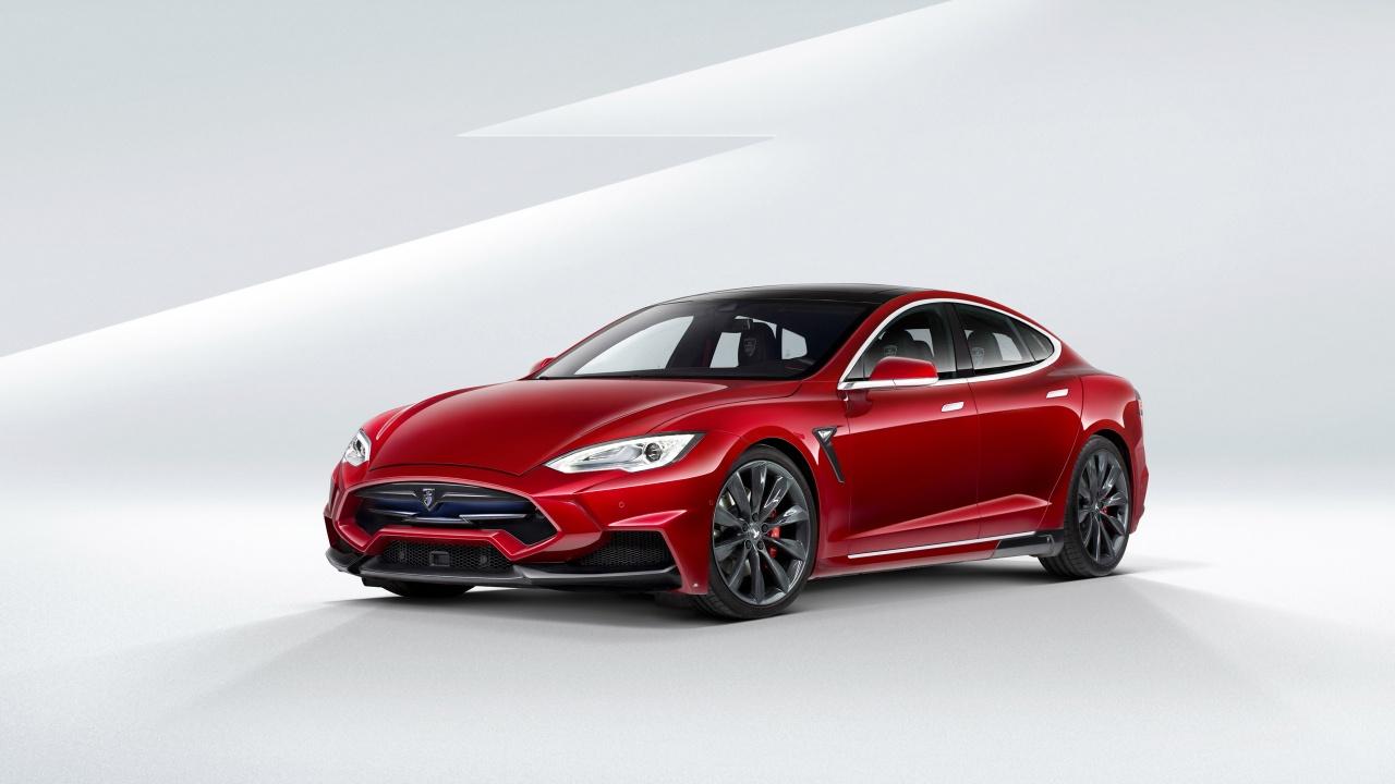 2015 Larte Tesla Model S Wallpaper HD Car Wallpapers 1280x720