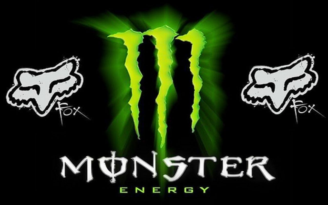 Logos For Monster Energy And Fox Racing Logo Wallpaper 1280x800