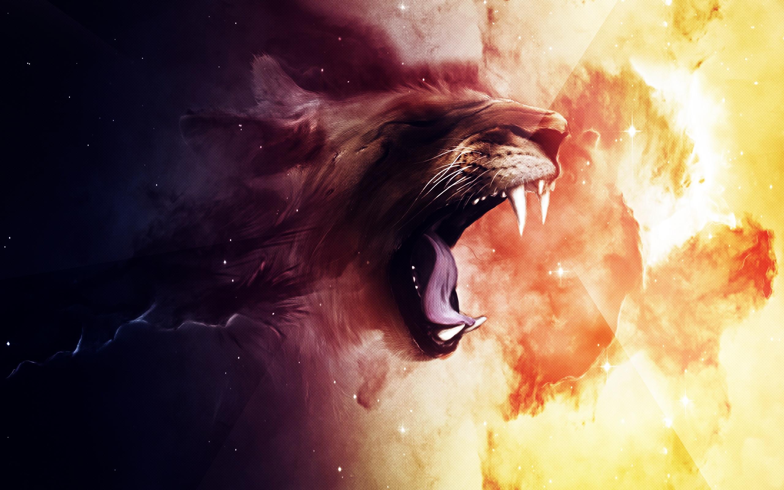 Roaring Lion Wallpapers HD 2560x1600