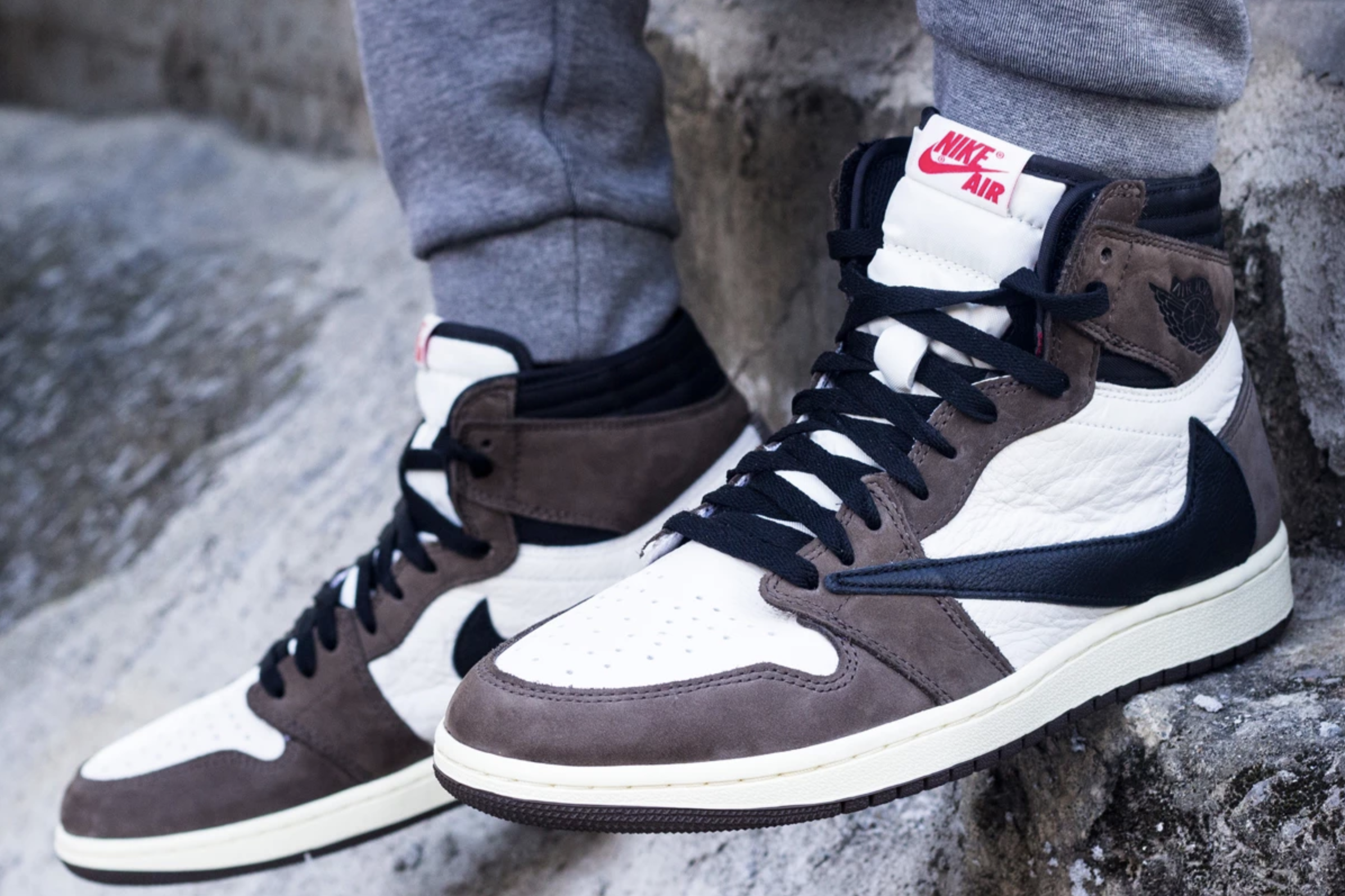 Discover the new images of the Air Jordan 1 Cactus Jack by Travis 2392x1594